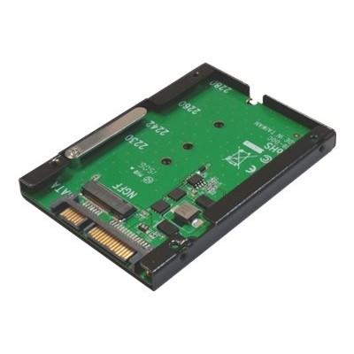 Addonics AD25M2SSD-E AD25M2SSD-E - Storage controller - M.2 Card - 600 MBps - SATA 6Gb/s