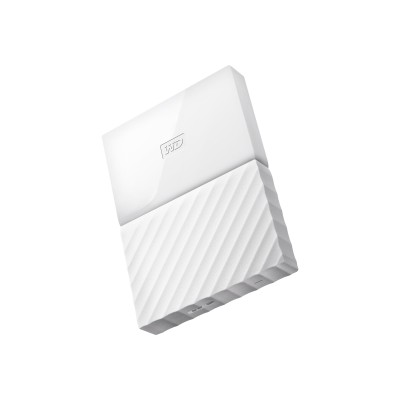WD WDBYFT0020BWT-WESN WD My Passport WDBYFT0020BWT - Hard drive - encrypted - 2 TB - external (portable) - USB 3.0 - 256-bit AES - white