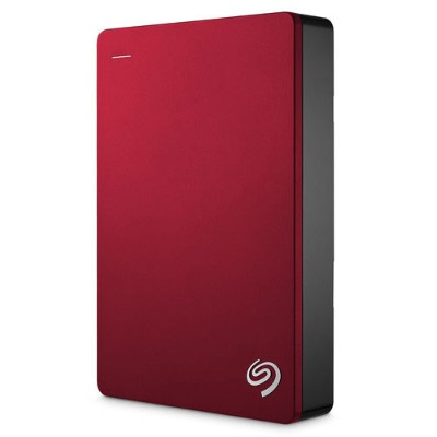 Seagate Technology STDR5000103 5TB Backup Plus USB 3.0 Portable External Hard Drive - Red