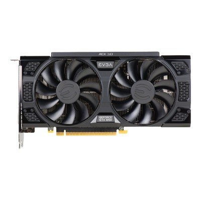 Evga 02G-P4-6154-KR GeForce GTX 1050 SSC Gaming ACX 3.0 - Graphics card - NVIDIA GeForce GTX 1050 - 2 GB GDDR5 - PCIe 3.0 x16 - DVI  HDMI  DisplayPort