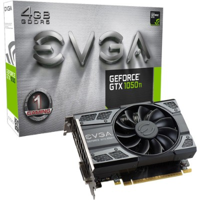 Evga 04G-P4-6251-KR GeForce GTX 1050 Ti Gaming - Graphics card - NVIDIA GeForce GTX 1050 - 4 GB GDDR5 - PCIe 3.0 x16 - DVI  HDMI  DisplayPort