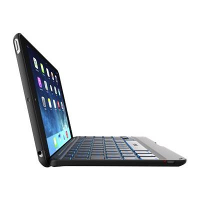 ZAGG ID6ZFN-BB0 Folio - Keyboard and folio case - Bluetooth - black keyboard  black case - for Apple iPad Air 2