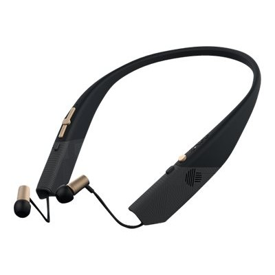 ZAGG ZGFLXH-BG0 Flex Arc Wireless - Earphones with mic - in-ear - behind-the-neck mount - wireless - Bluetooth - black / gold