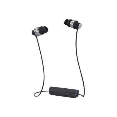 ZAGG IFIMPE-BS0 Ifrogz Impulse - Earphones with mic - in-ear - wireless - Bluetooth - black & silver