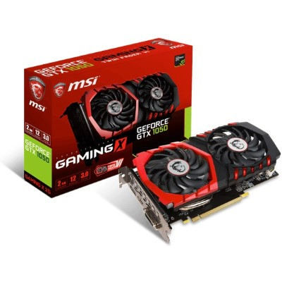 MSI GTX 1050 GAMINGX 2G NVIDIA GeForce GTX 1050 GAMING X 2G Grahics Card