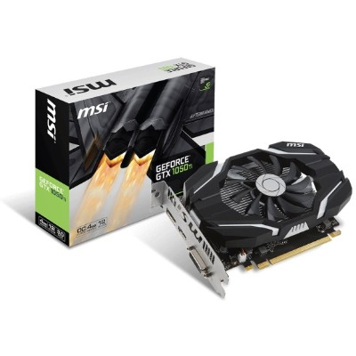 MSI GTX 1050 TI 4G OC NVIDIA GeForce GTX 1050 Ti 4G OC Graphics Card