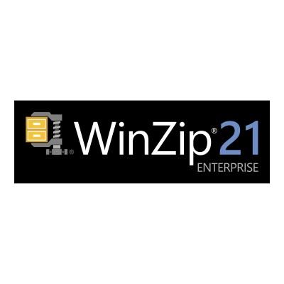 Corel LCWZ21ENTMLF WinZip Enterprise - (v. 21) - license + 1 Year Maintenance - 1 user - volume - level F (5000+) - Win - Multi-Lingual