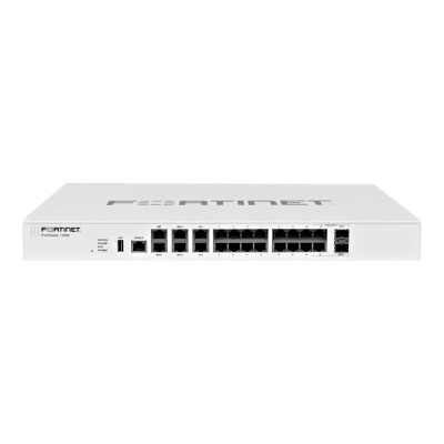 Fortinet FG-100E-BDL FortiGate 100E - UTM Bundle - security appliance - with 1 year FortiCare 8X5 Enhanced Support + 1 year FortiGuard - GigE - 1U