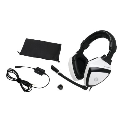Iogear GKMHKIT1E Kaliber Gaming Imperial White Edition Gamer Pack - Desktop accessories bundle