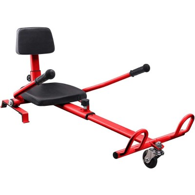Worry Free Gadgets HOVERKART-RED HoverKart Seat - for Balance Scooter - Red