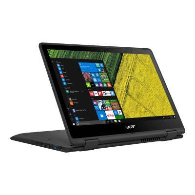Acer NX.GK4AA.015 Spin 5 SP513-51-395G - Flip design - Core i3 6100U / 2.3 GHz - Win 10 Home 64-bit - 4 GB RAM - 128 GB SSD - 13.3 IPS touchscreen 1920 x 1080 (