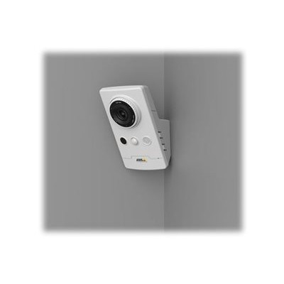 Axis 0811-001 M1065-L - Network surveillance camera - color (Day&Night) - 1920 x 1080 - 1080p - M12 mount - fixed iris - fixed focal - LAN 10/100 - MPEG-4  MJPE