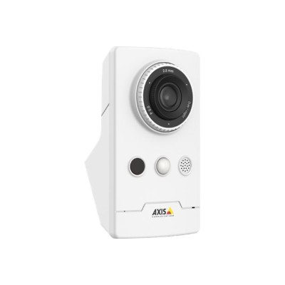 Axis 0810-004 M1065-LW - Network surveillance camera - color (Day&Night) - 1920 x 1080 - 1080p - M12 mount - fixed iris - fixed focal - audio - wireless - Wi-Fi