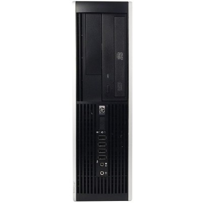 HP Inc. RB-741807826249 8000 Elite Intel Core 2 Duo E8400 3.0GHz Small Form Factor Desktop - 8GB RAM  2TB HDD  DVD-ROM  Gigabit Ethernet - Off-Lease