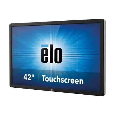 ELO Touch Solutions E268447 Interactive Digital Signage Display 5551L 4K Infrared - 55 Class (54.6 viewable) LED display - digital signage - with touchscreen -
