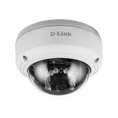 D-Link DCS-4603 DCS-4603 Full HD PoE Dome Camera - Network surveillance camera - pan / tilt - color (Day&Night) - 3 MP - 1920 x 1080 - 1080p - LAN 10/100 - MJPE