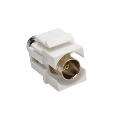 TrippLite A230-001-KP BNC Keystone Panel Mount Coupler All-in-One Coaxial F/F 75 Ohms