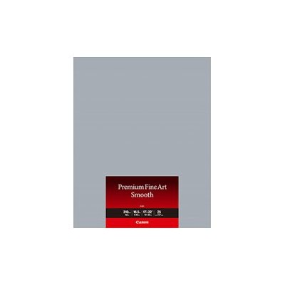 Canon 1711C005 Premium Fine Art Smooth FA-SM1 - Smooth - 16.5 mil - 17 in x 22 in - 310 g/m² - 25 sheet(s) photo paper - for imagePROGRAF PRO-1000
