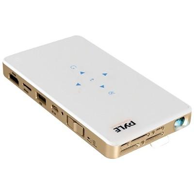 Pyle PRJWIFI70 HD Pocket Pro Smart Wi-Fi Projector