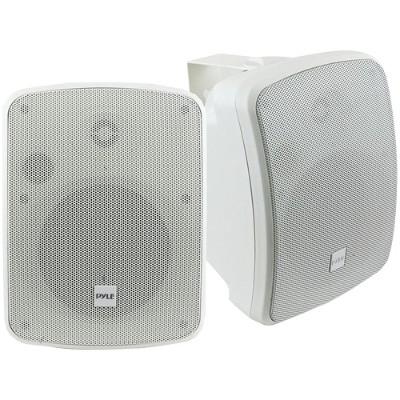 Pyle PDWR54BTW 5.25 Indoor/Outdoor 600-Watt Bluetooth Speaker System (White)
