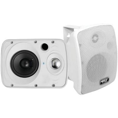 Pyle PDWR64BTW 6.5 Indoor/Outdoor 800-Watt Bluetooth Speaker System (White)