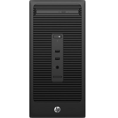 HP Inc. Z2G19UT#ABA Smart Buy 280 G2 Intel Core i3-6100 Dual-Core 3.70GHz Microtower PC - 4GB RAM  500GB HDD  DVD SuperMulti  Gigabit Ethernet