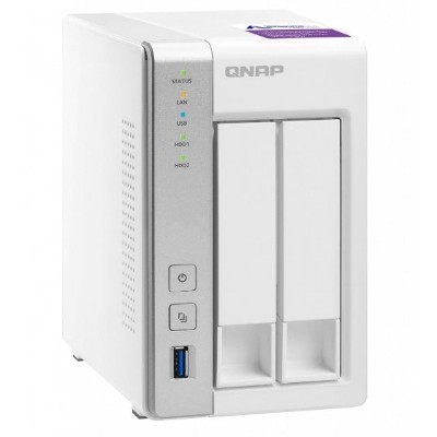 QNAP TS-231P-US 2-Bay Personal Cloud Network Attached Storage