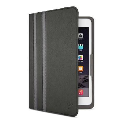 Belkin F7N324BTC00 Twin Stripe - Flip cover for tablet - blacktop  gravel