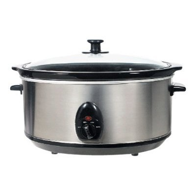 Brentwood Appliances SC-150S Brentwood SC-150S - Slow cooker - 6.5 qt - stainless steel