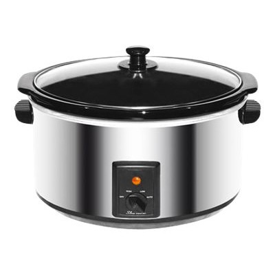 Brentwood Appliances SC-170S Brentwood SC-170S - Slow cooker - 9.6 qt - 380 W - stainless steel
