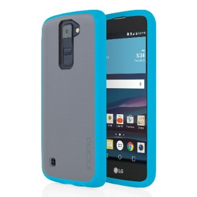 Incipio LGE-306-FTBL Octane Co-Molded Impact Absorbing Case for LG K8 - Frost/Blue
