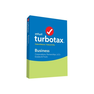 Intuit 428966 TurboTax Business for Tax Year 2016 - Box pack - 1 user - CD - U.S. Federal only - Win - with E-file 2016