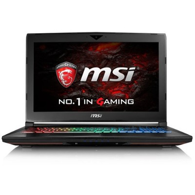 MSI GT62VR027 GT62VR Dominator-027 Intel Core i7-6700HQ Quad-Core 2.60GHz Gaming Laptop - 16GB RAM  128GB SSD + 1TB HDD  15.6 FHD IPS  Gigabit Ethernet  802.11a