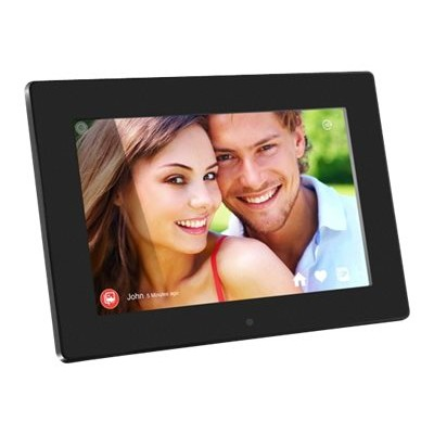 Aluratek AWDMPF110F AWDMPF110F - Digital photo frame - flash 8 GB - 10 - 1280 x 800 - black