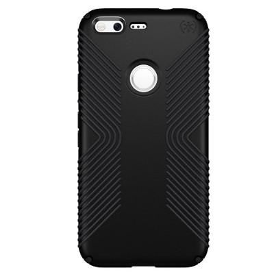 Speck Products 86307-1050 Presidio Grip Case for Google Pixel 5 - Black