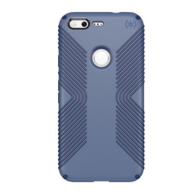 Speck Products 86307-5732 Presidio Grip Case for Google Pixel 5 - Twilight Blue/Marine Blue