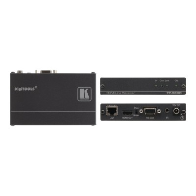 Kramer Electronics USA 50-80022090 DigiTOOLS TP-580R - Video/audio/infrared/serial extender - up to 230 ft - 1U