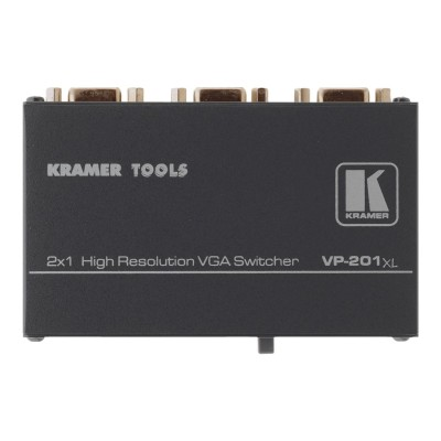 Kramer Electronics USA 51-0030299 VP 201XL - Monitor switch - 2 x VGA - desktop