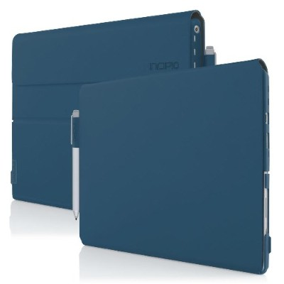 Incipio MRSF-094-NVY Faraday [Advanced] Folio Case with Magnetic Fold Over Closure for Microsoft Surface Pro 4 - Navy