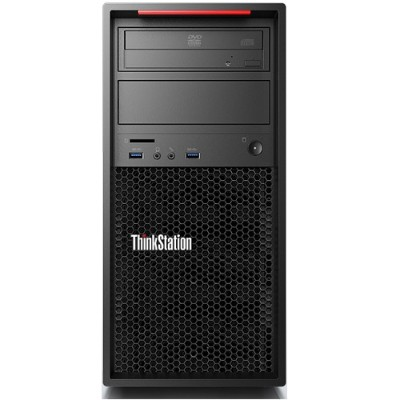 Lenovo 30AT006VUS TopSeller ThinkStation P310 30AT Intel Core i7-6700 Quad-Core 3.40GHz Tower Workstation - 16GB RAM  256GB SSD  DVD±RW  9-in-1 Media Card Reade