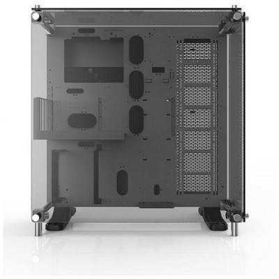 ThermalTake CA-1E7-00M6WN-01 Core P5 Tempered Glass Snow Edition ATX Wall-Mount Chassis
