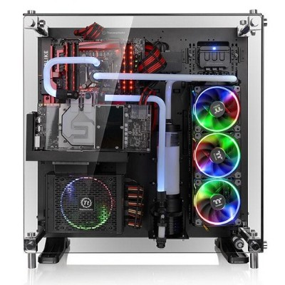 ThermalTake CA-1E7-00M1WN-03 Core P5 Tempered Glass Edition ATX Wall-Mount Chassis - Black