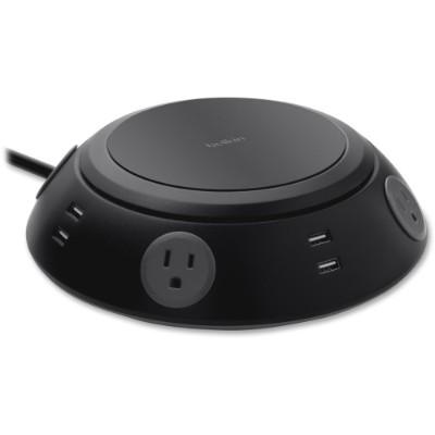 Belkin B2E031TT06BK Meeting Room Power Center  4 x AC Power  8 x USB - 1080 J - 5 Volt DC Output