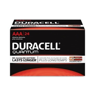 Duracell 66241 Quantum AAA Batteries 24 / Box
