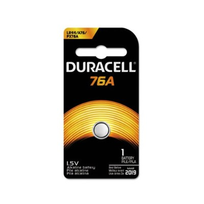 Duracell PX76A675PK09 1.5 Volt 76A Special Application Alkaline Battery - 1 Pack