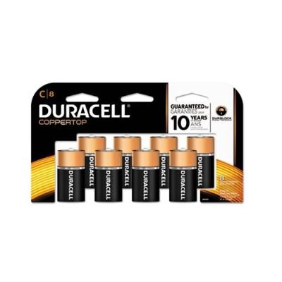 Duracell MN14RT8Z 1.5 Volt DC C Size Alkaline battery - 8 / Pack