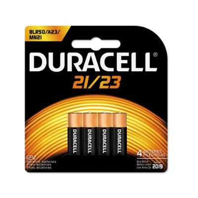 Duracell MN21B4PK 12 Volt Security Alkaline Battery - 1 Each