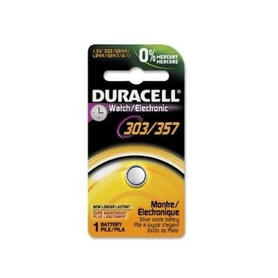 Duracell DL303/357BPK Silver Oxide Button Cell General Purpose Battery