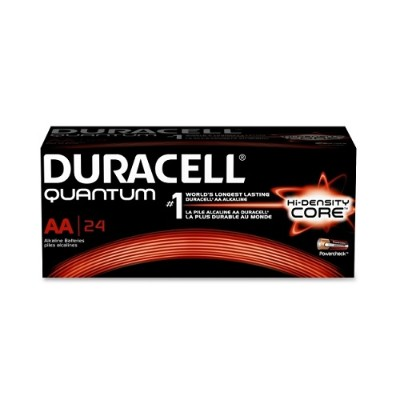 Duracell QU1500BKDCT High-density Core Quantum AA Batteries - 144/Carton