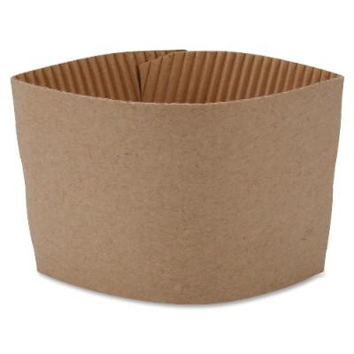 Genuine Joe 19049PK Protective Corrugated Hot Cup Sleeves 40394083